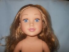 Journey Girl Doll Brown Red Curly Hair Blue Eyes