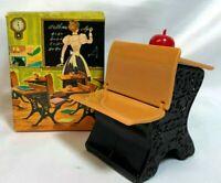 Avon Vintage Remember When School Desk Decanter (Empty) Original Box-Teacher