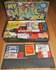 PETER PAN -  MY MAGIC BOX  - VINTAGE MAGIC TRICK SET 1950s - RARE