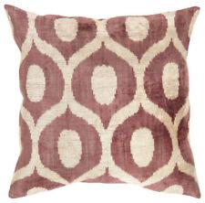 Large Pasargad Ikat Silk Velvet Throw Pillow Cushion Tribal Chic Home Decor