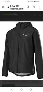 Fox Ranger 2.5L Mens Mountain Bike Waterproof Jacket - Black Medium