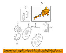 GM OEM Rear-Brake Disc Caliper 25990067