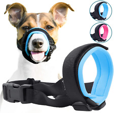 Gentle Muzzle Guard For Dogs Prevents Biting Unwanted Chewing Safely Secure Comf