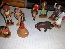 Safari Ltd Toob Wild West Figures Native Americans Cowboys Tepee Annie Oakley
