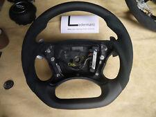Mercedes thick flat bottom paddle steering wheel W219 SL CLK55 W211 E63 E55 AMG