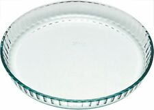 Pyrex Bake & Enjoy Glass Flan dish high resistance 25 cm 24 cm