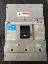 SIEMENS JXD63B400 400 AMP 600 VOLT 3 PHASE AND SHUT TRIP 120V S01JLD6