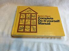1973 VINTAGE READERS DIGEST COMPLETE DO IT YOURSELF MANUAL