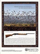 2006 BERETTA 3901 Statesman Shotgun Firearms AD Advertising