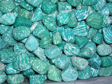 Amazonite all natural polished 1/2 to 1 inch blue green Africa 1/4 pound lots