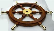 Antique Maritime Nautical Wheels Wooden Ship Wheel Vintage Unique Decorative Ite