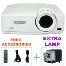 Refurbished - Mitsubishi Wd570U Dlp Projector Home Theater w/bundle + Extra Lamp