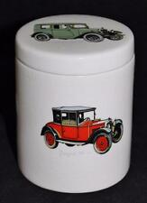 Aviemore Pottery, Scotland, Wilson's Old Ryes, Morris Minor, Peugeot Covered Jar