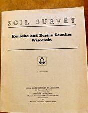 New ListingBook - Soil Survey, Kenosha and Racine Counties, Wisconsin, 1970, With Maps