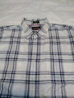 New Orvis Trout Bum Button Up Short Sleeve Shirt Men XXL  Polyester/nylon