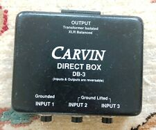 Carvin Db-3 Direct Box Combiner Splitter