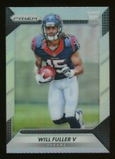 2016 Will Fuller V Panini Prizm Silver Prizm Rookie Rc #268 *NICE* Breakout Year