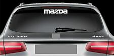 Rear Window Sticker fits Mazda Vinyl Decal Emblem Sticker Logo RW47