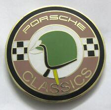 CAR BADGE-1PORSCHE CLASSIC CAR GRILL BADGE EMBLEM LOGOS METAL ENAMLED CAR GRILL