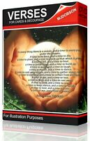 VERSES FOR CARDS Verses and Quotes for Card Making & Decoupage Download