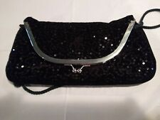 Sequined Glitter Clutch Crossbody Purse. Reproduction of a Vintage Purse.