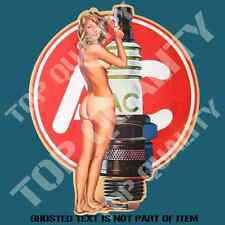 RETRO HOT ROD PIN UP GIRL DECAL STICKER SET HOT ROD RAT ROD MOTORSPORT STICKERS