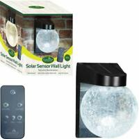 Solar Led Wall Light Outdoor Path Lights Garden Security Light Waterproof Lamp