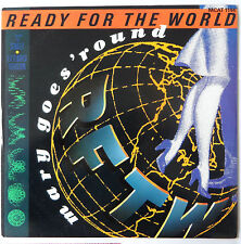 """READY FOR THE WORLD : Mary Goes Round (12"""" vinyl PS 1987)"""