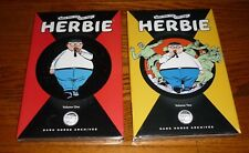 Herbie Archives Volumes 1 + 2, SEALED ACG Dark Horse hardcover book The Fat Fury