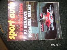 ** Sport Auto n°175 Golf & Scirocco GTI