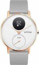 Withings Steel HR Hybrid Smartwatch Rose Gold/White 36mm - Opened