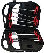 T-Griff Steckschlüssel Sortiment 6-14 mm Schraubenschlüssel 9-tlg Stiftschlüssel