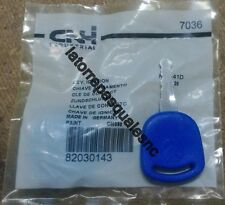 Genuine CNH Ford Fiat Case New Holland Key 82030143 TRACTOR