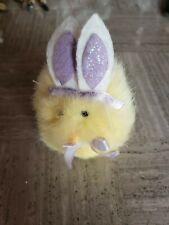 Dan Dee Yellow Bunny Rabbit Chirps Stuffed Animal Plush Toy