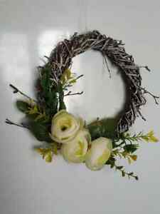Spring Wreath Spring Table Centrepiece Beautiful Handmade Gift Wall Decor