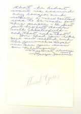 FONTANE SISTERS SIGNED AUTOGRAPHED HAND WRITTEN NOTE RE: PERRY COMO 1954 (502B)