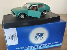 SEAT 128 3 p Verde Marina SCALE CARR Escala 1:43, Mira, AutoPilen, Joal
