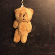 Miniature Large Teddy Bear Big  Ted Brown Keyring