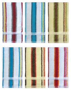 2 Pack cotton guest towels hand flannels wash cloths 38 x 63 cm kitchen towel