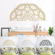 Half Mandala Sticker Wall Decal Decor Art Living Room Bedroom Mural New ~