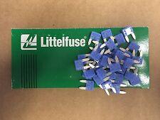 Set of 50: LittelFuse Automotive Marine ATM 15 Amp Mini Fuse Blades USA SELLER