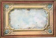Dollhouse Miniature Ceiling Mural  Wallpaper