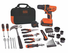 Black & Decker LDX120PK 20-Volt Max Lithium Drill/Driver & 68-Piece Project Kit.