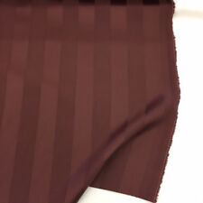"Elderberry Stripe ""Brodie"" 100% Lambswool Fabric. Made by Hield for Romo"
