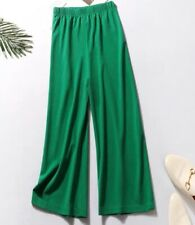 Straight Leg Green Trousers Size S-M