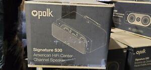Polk Audio Signature S30 Center Speaker - Black