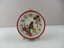 Ancien réveil / montre, Mickey Mouse, Walt Disney Bradley Germany, vintage
