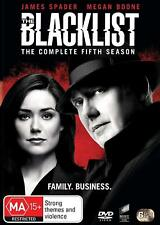 THE BLACKLIST 5 (2017-2018) FBI Crime Action TV Season Series - NEW Au Rg4 DVD