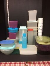 Hugh Lot of Over 30 Pieces of Tupperware Collection. Some Very Unique Items.