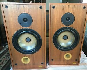 Spendor SP-2 Speakers  Two Way   Teak BBC Monitors With Shipping Boxes